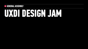 UXDI Design Jam 20141101